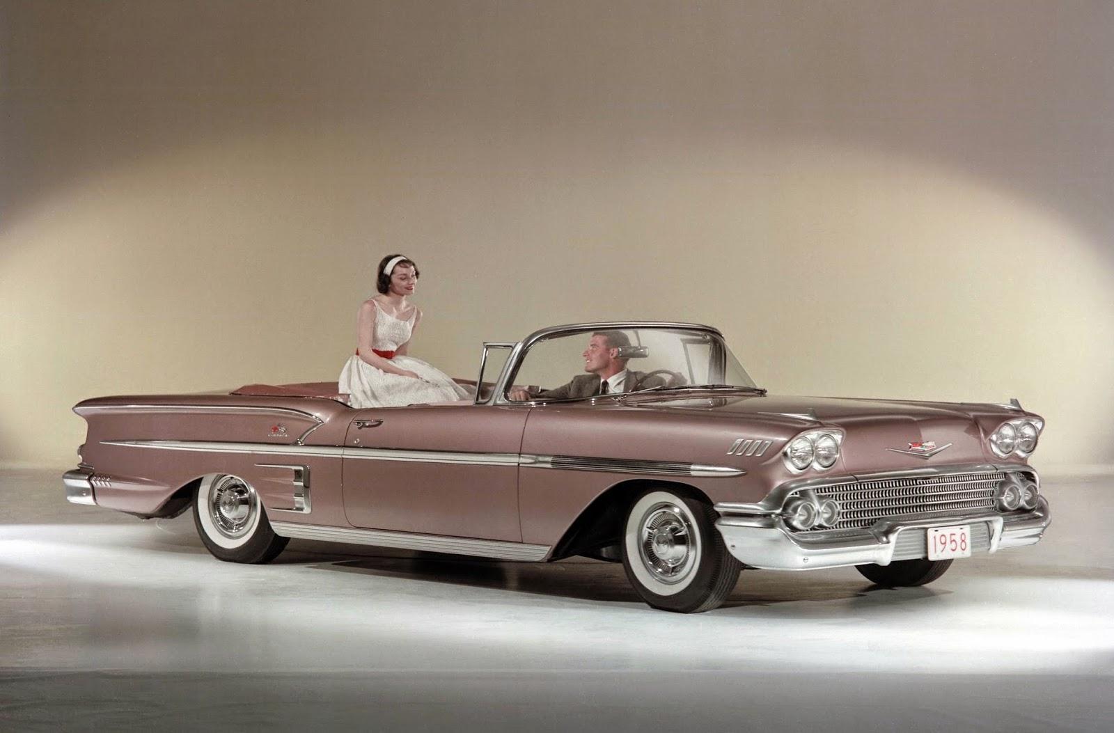 All american classic cars 1958 chevrolet impala 2 door for Classic american convertibles
