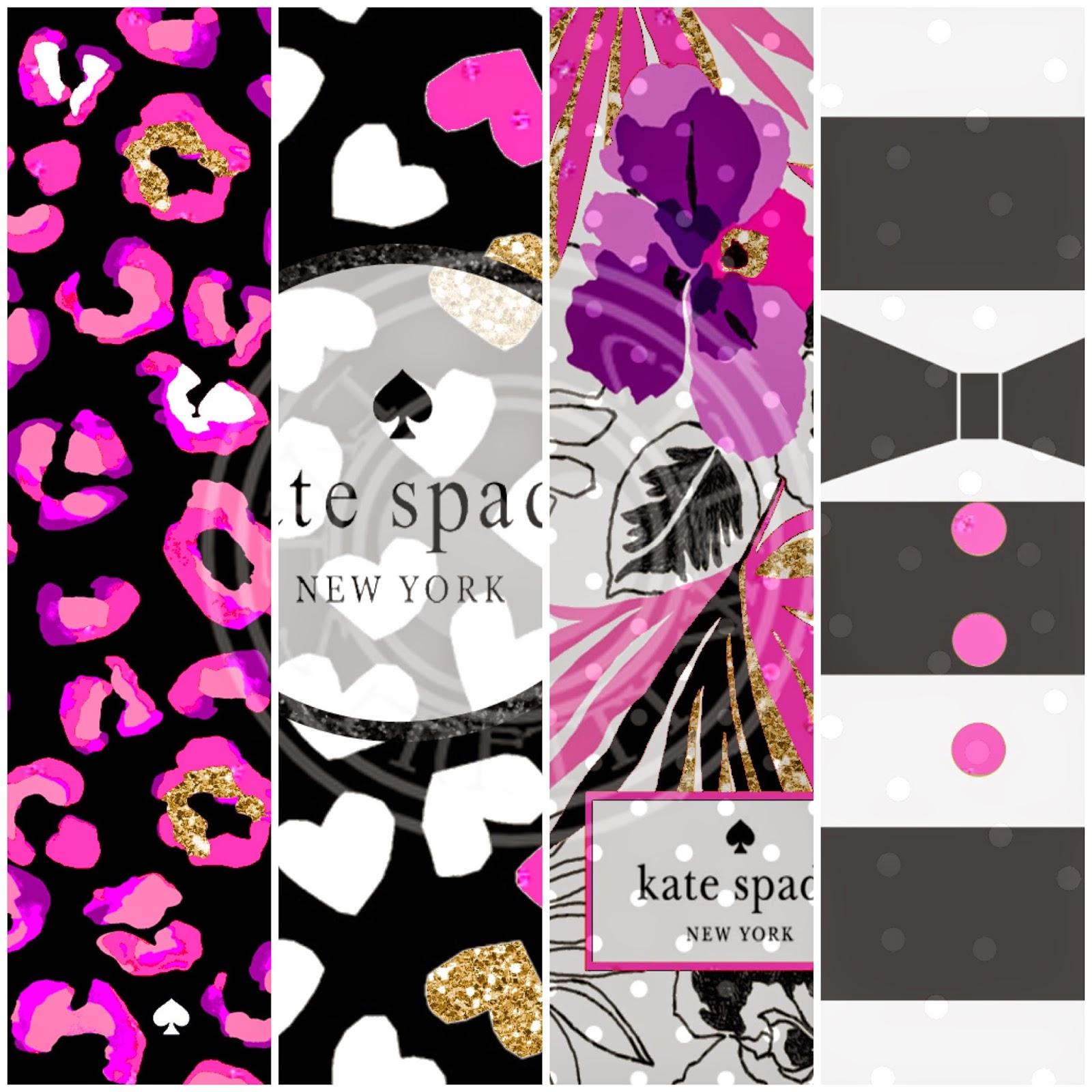 Pretty Walls Ipad Mini Kate Spade 4 Piece Wallpaper Set
