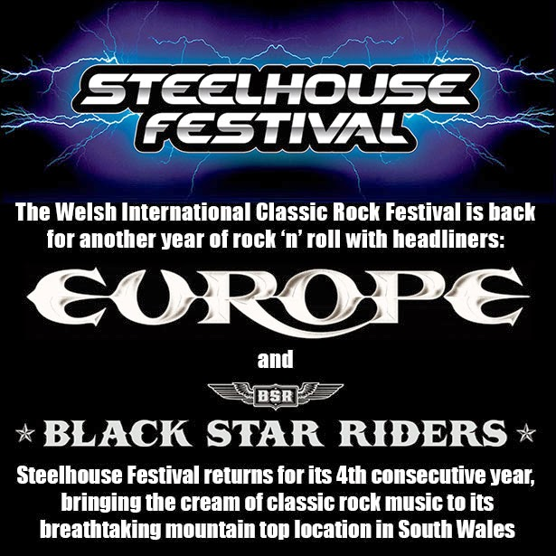 Steelhouse festival 2014 The Answer Europe Black Star Riders