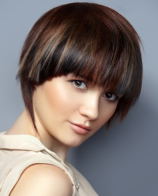 Short Bob Hair Style Trends for Fall- by Nailya Shaidullina