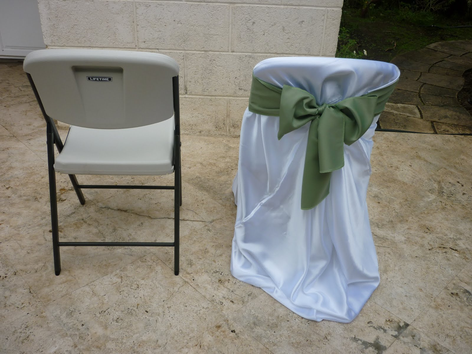 Plastic Furniture Wrap Nu Wrap Satin Chair Covers 5 Each Sanojahs