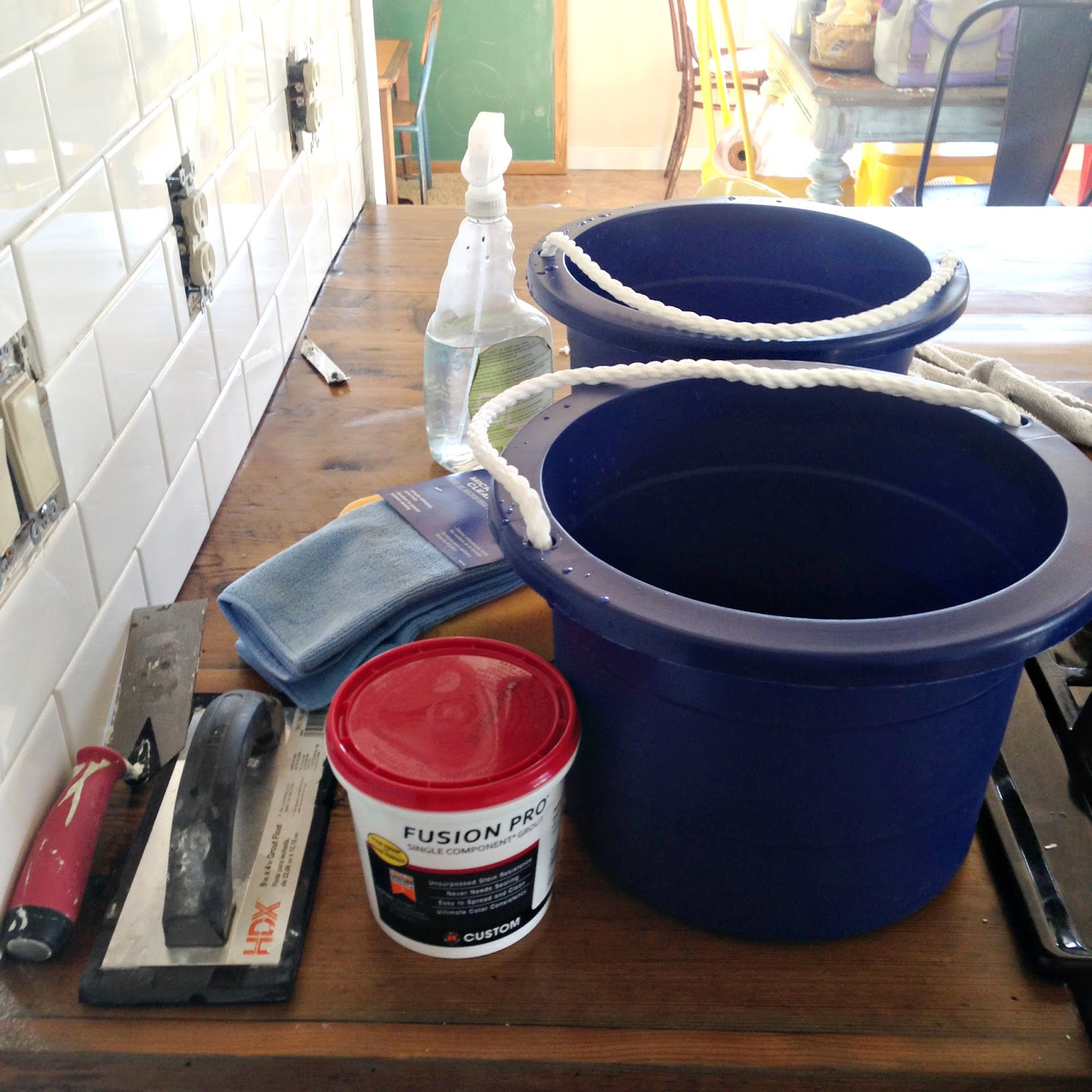 Subway tile installation tips on grouting with fusion pro i dailygadgetfo Choice Image