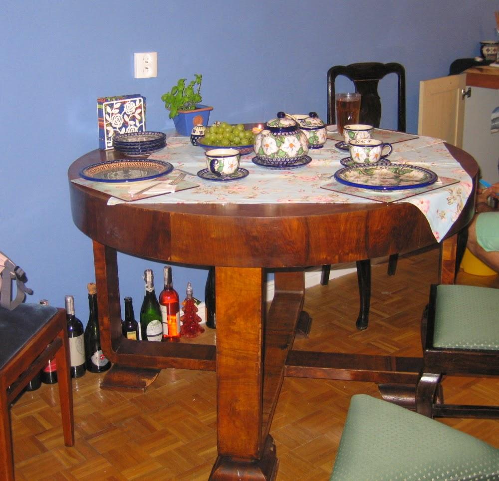 aranżacja stołu