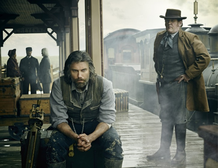Hell On Wheels - Season 4 - Cast Promotional Photos