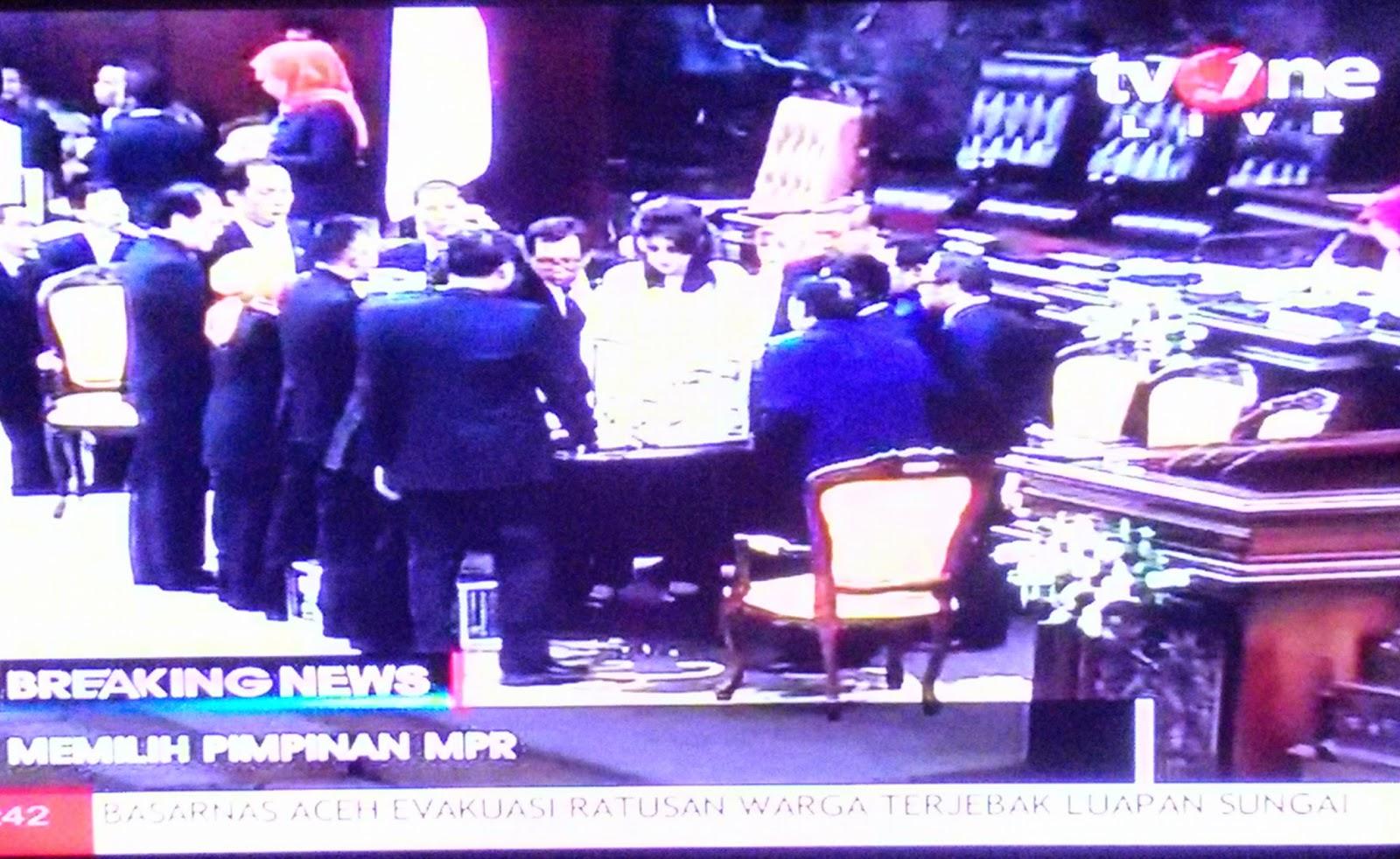 Info Pemilihan Ketua MPR-RI