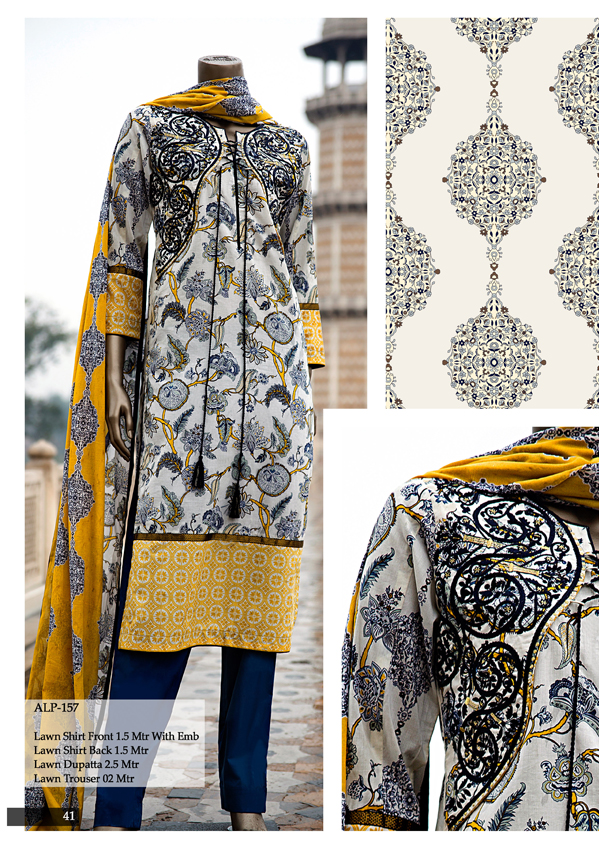 Almirah all lawn collection 2015
