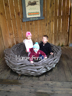 Having fun at the zoo with big brother and cousin Layla!
