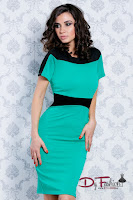 rochie-office-Better Green