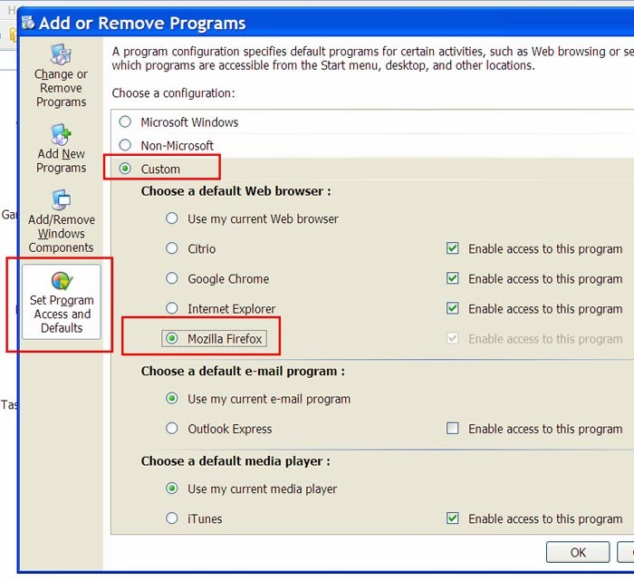Thay đổi trình duyệt mặc định trong Windows