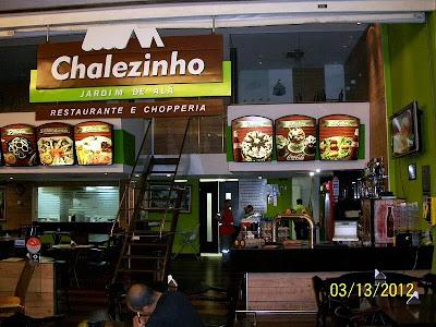 Chalezinho: Ambiente da loja do Salvador Shopping (foto: divulgação)