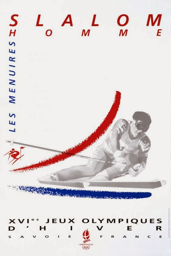 a brief history of winter olympics poster art