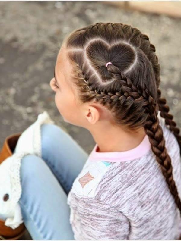 Foto Gaya Rambut Anak Perempuan Lucu