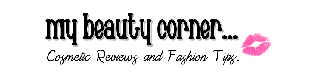 My Beauty Corner... Cosmetic Reviews