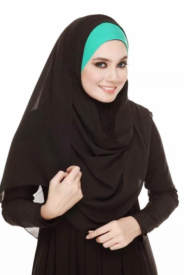 Instant Shawl Pleated