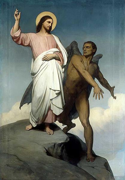 Christ, Jesus, Satan, Devil, Beelzebub, Belial, Temptation, Bible