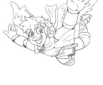 #18 Pit Coloring Page