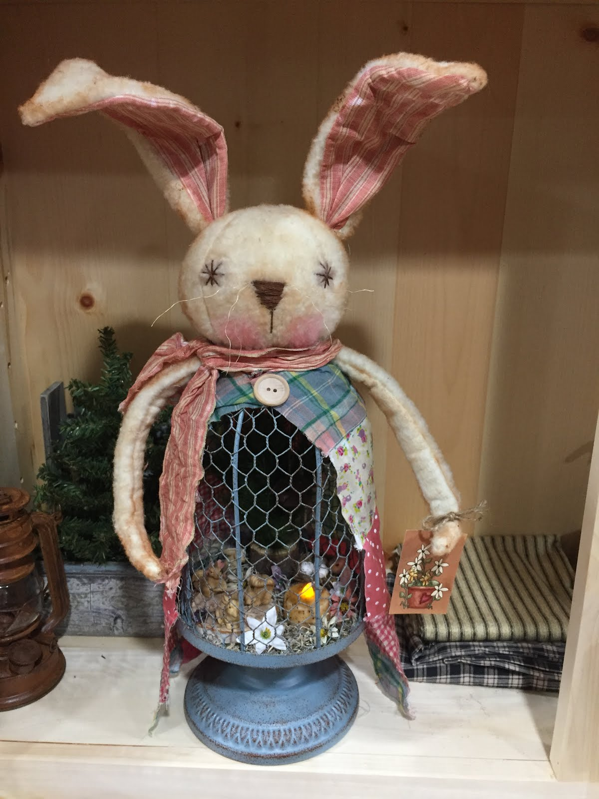 Grace-Guardian Of Spring Bunny