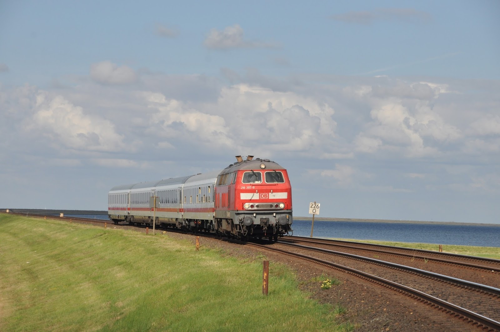 Trains today db dsb trip report 29th july 1st august 2014 - Sylt mobel niebull ...