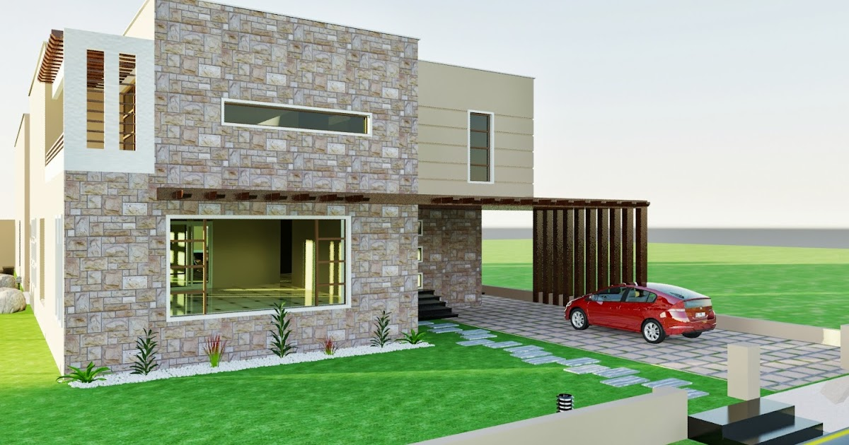 Front Elevation Of Houses In Dha Lahore : D front elevation dha karachi vii