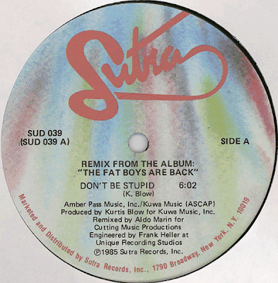 Fat Boys – Remix From The Album ''The Fat Boys Are Back'' (VLS) (1985) (320 kbps)