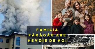 Apel pentru ajutorarea familiei Gabriel Fărăgău din Cluj-Napoca!