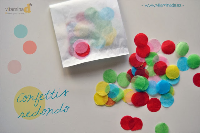 confettis redondo