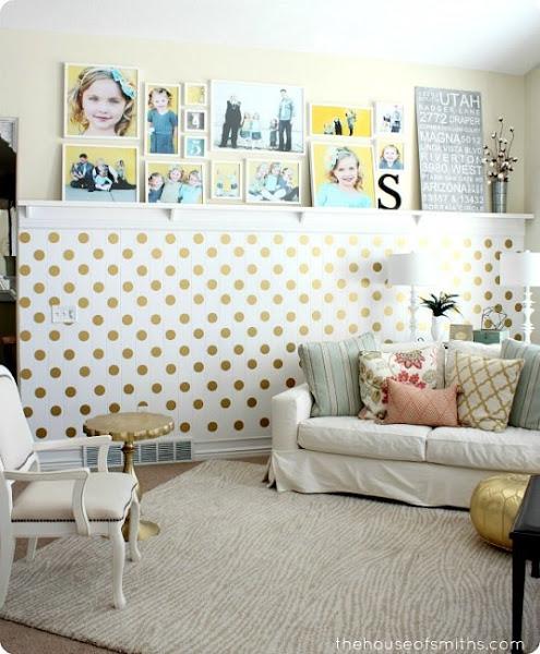 Decorar paredes salon decorar tu casa es - Decorar paredes salon ...
