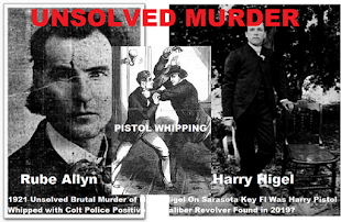 Who Murdered Harry Higel Friday January 7th 1921, Rube Allyn?