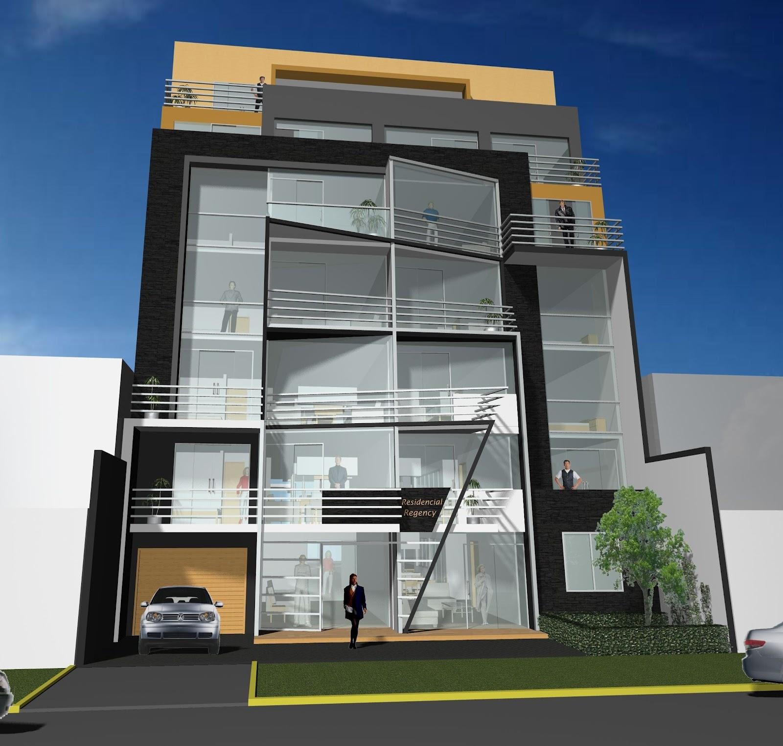 Santiago des1gns dise o de edificios multi familiares - Edificios minimalistas ...