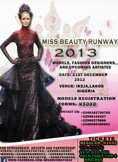 MISS BEAUTY RUNWAY 2013