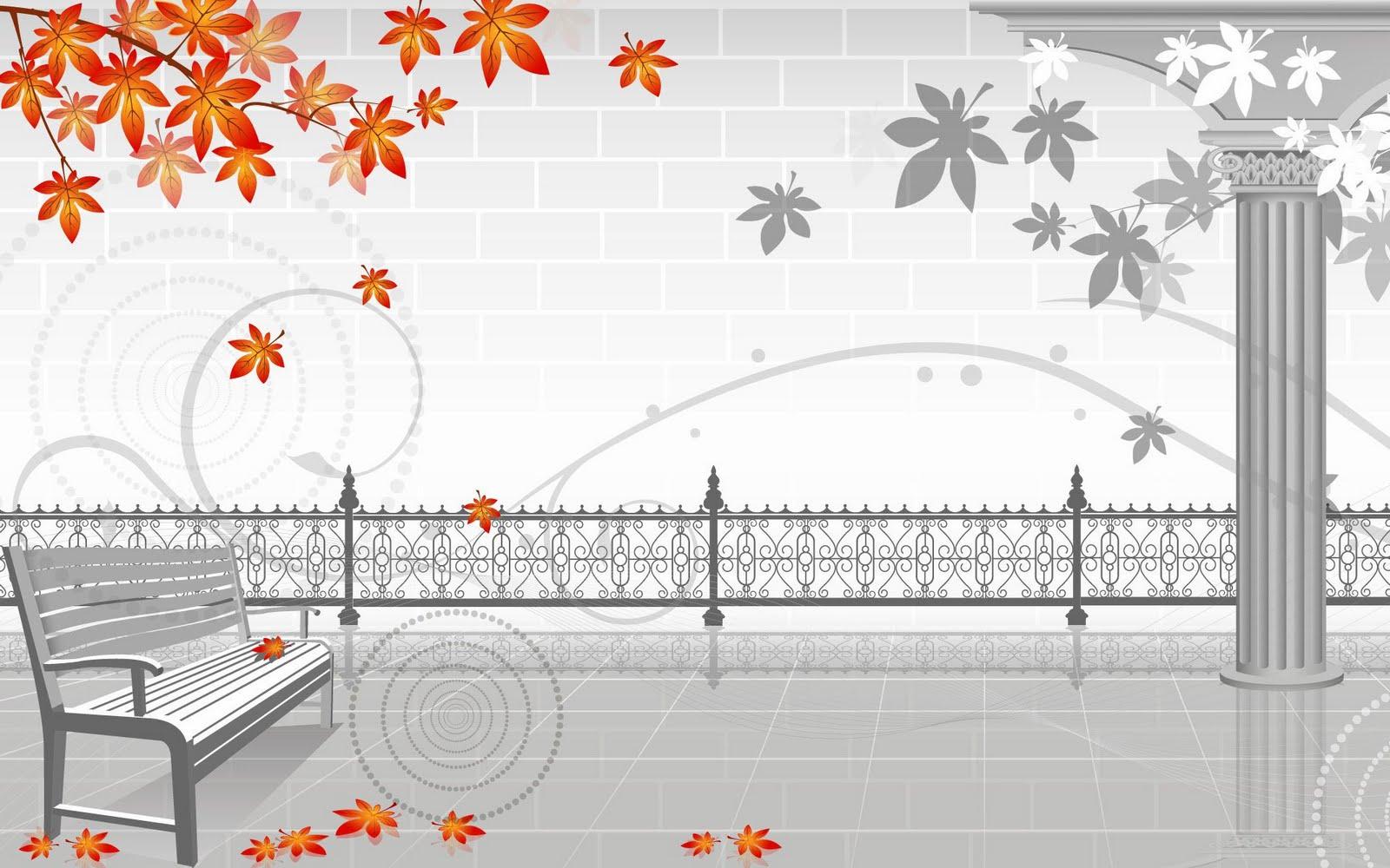 QQ Wallpapers Digital Art Interior Design HD Wallpaper Set 2