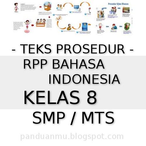 Download Rpp Teks Prosedur Berkas Rpp Bahasa Indonesia Kelas 8