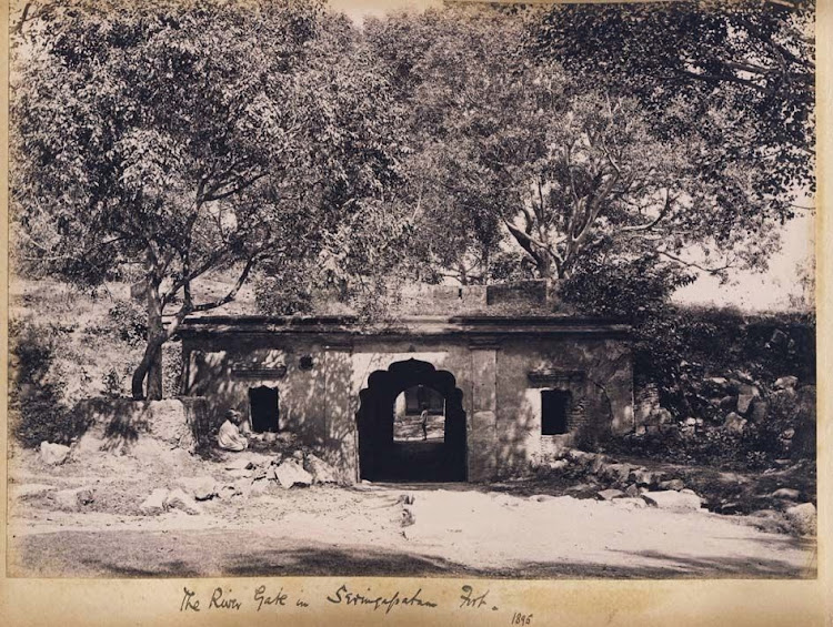 The River Gate in Seringapatam Fort - Karnataka 1895