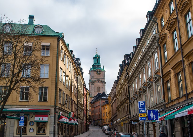 stockholm gamla stan buildings