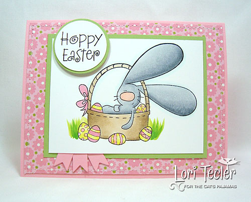 Hoppy Easter-designed by Lori Tecler/Inking Aloud-stamps from The Cat's Pajamas