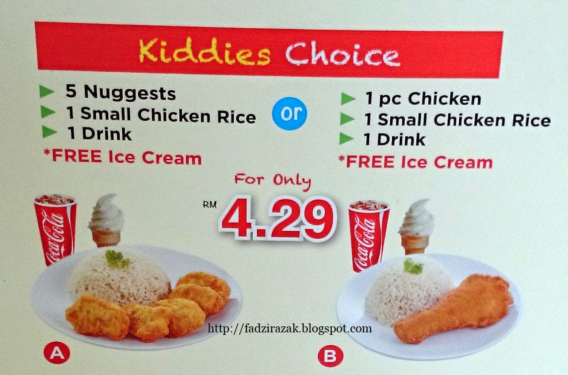 Set Menu Uncle Jack Fried Chicken