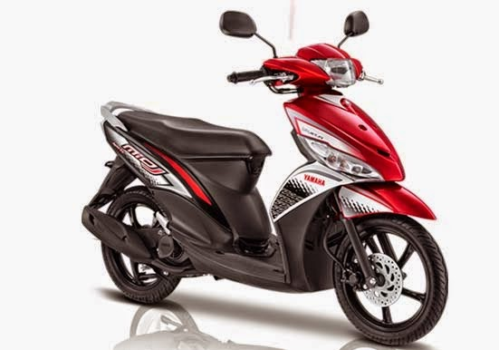 Yamaha Mio J FI Sporty Red