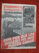 sábado, 14 de mayo de 2011 guerra malvinas