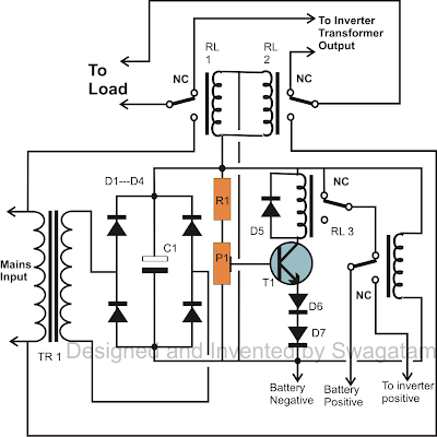 Inverter Wiring Diagram Pdf further Battery Monitor likewise Maypole 750 30a Metal Battery Charger 12 24v also SplitCharge01 additionally Solar Charger Circuit By Lm317. on 12 volt battery charger circuit