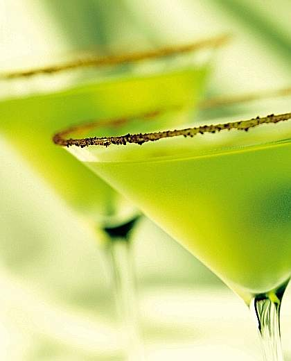 Sweet Southern Prep: Thirsty Thursday: Green Apple Martini