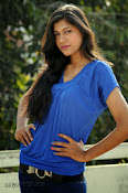 Sneha Tagore Photo shoot in Blue-thumbnail-12