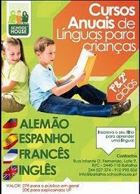 Curso de Línguas Anuais para Crianças do 1º e 2º ciclos