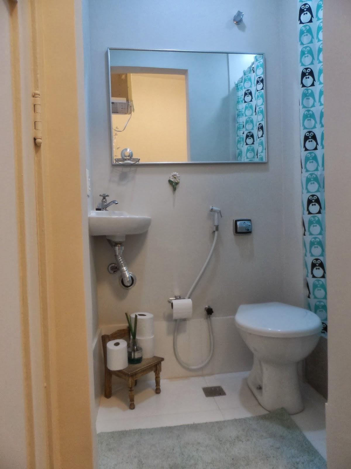 Reforma de cozinha área de serviço e dependências de empregada na  #9C6F2F 1200x1600 Banheiro De Empregada Decoração