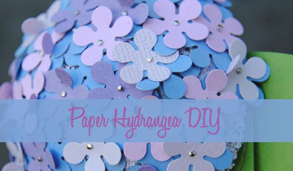 paper hydrangeas