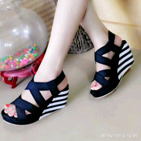 Grosir High Heels Wedges Belang Super Style