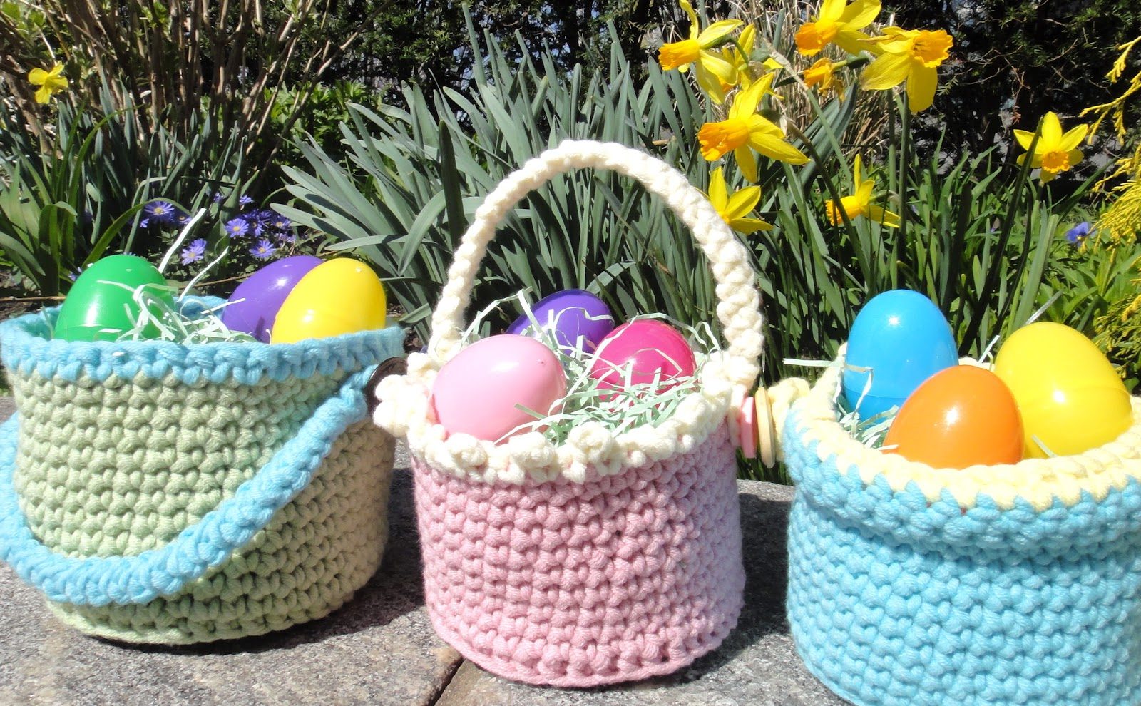 Crochet Easter Basket : Vals Corner: March 2012