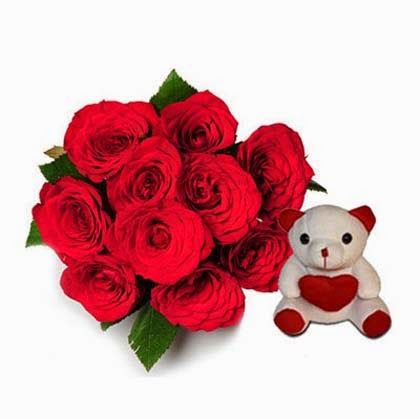 My Beary Love Roses