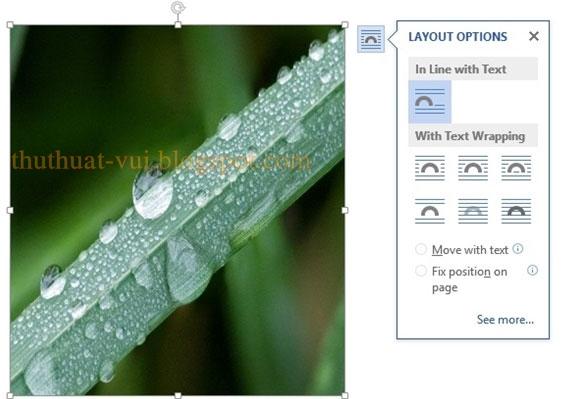 Cách chụp ảnh màn hình trong Word 2013