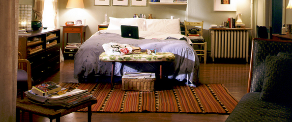 Carrie Bradshaw 39 S Apartment Floor Plan Daily Dream Decor