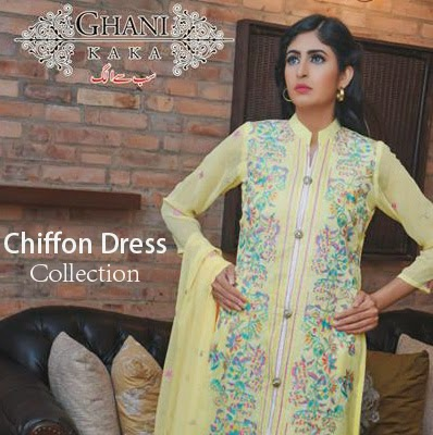 Ghani-Kaka-Embroidered-Chiffon-Dress-Collection-2015